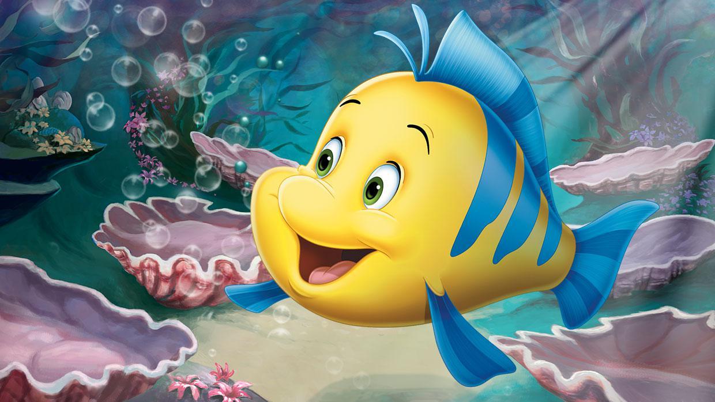 Image - The-little-mermaid-flounder.jpg - Disney Wiki
