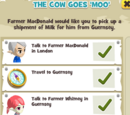 The Cow goes 'Moo'