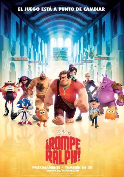 Películas Disney clásicas (y no tan clásicas) - Pixar Rompe_Raplh_Game