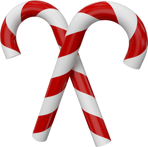 Image - Large Transparent Christmas Candy Canes.png - Glee Wiki