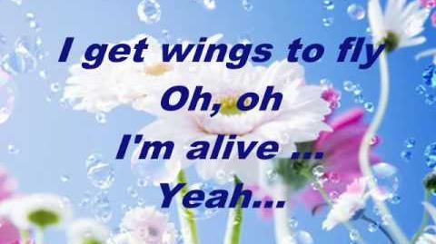 Celine Dion - I'm alive (full lyrics)