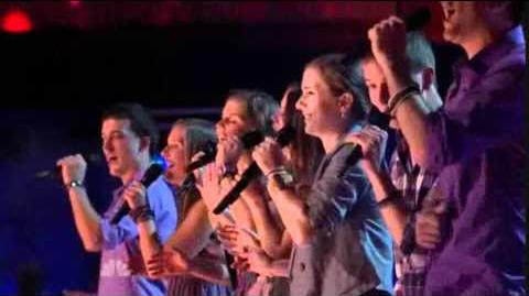 "1st Performance - Fannin Family - ""Who Says"" by Selena Gomez - Sing Off - Series 3"