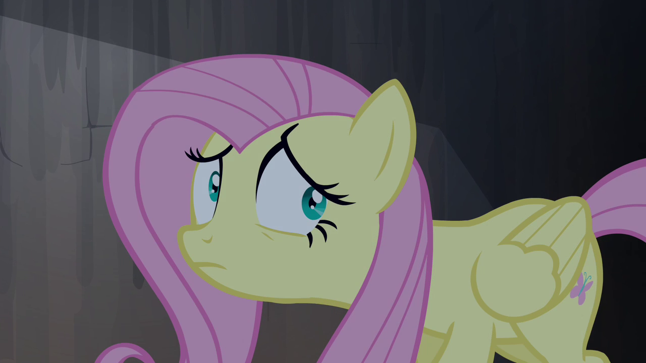 Image - Fluttershy frightened expression S4E03.png - My ...