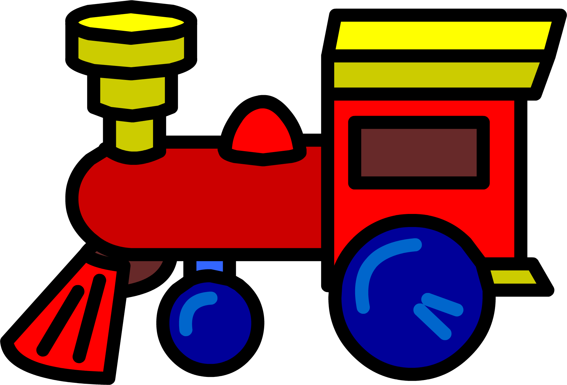 Toy Train Graphics : Toy train club penguin wiki the free editable