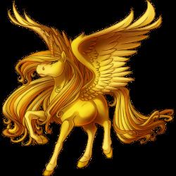 Gold Alicorn Valley Of Unicorns Wiki