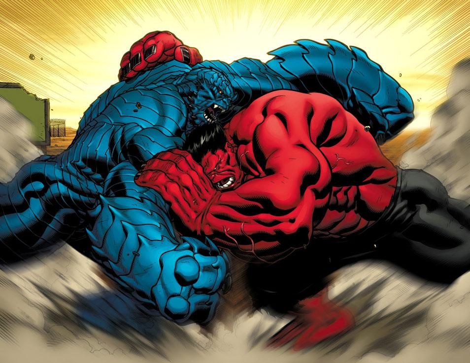 Red hulk vs abomination a bomb vs abomination a bomb marvel