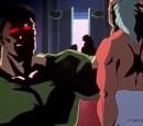 Tres monstruos: Hiei, Kurama y Gooki