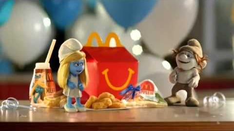 Happy Meal The Smurfs 2 TV Commercial