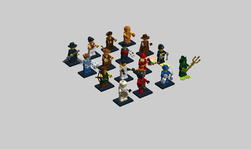 lego minifigures series 13 - photo #23