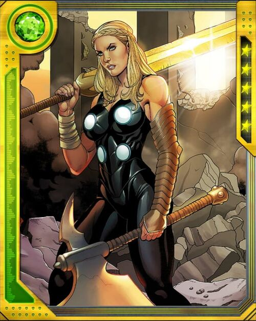[Death-Glow] Valkyrie - Marvel: War of Heroes Wiki