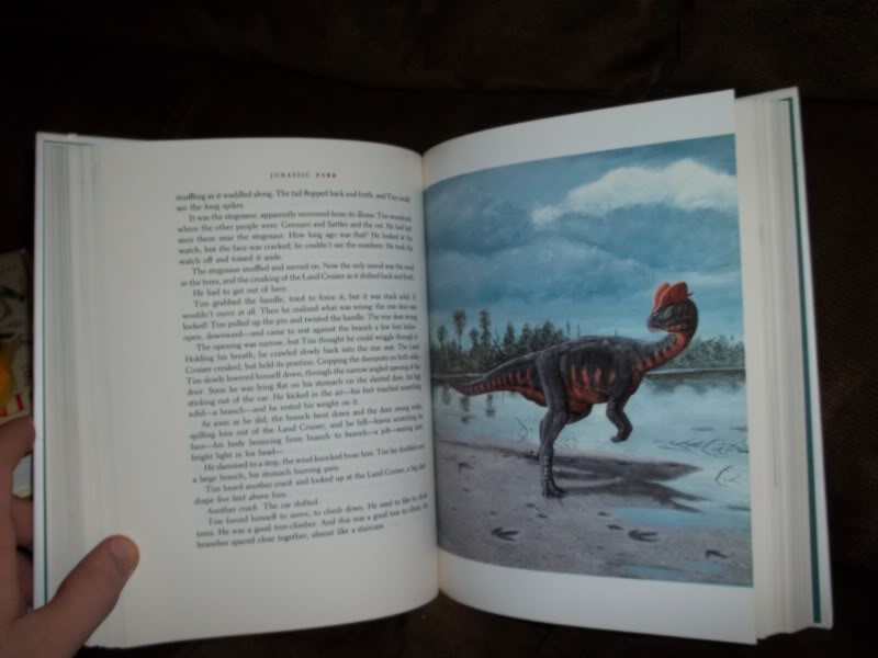 a comparison of the book and movie rendition of jurassic park Amazoncom: jurassic world: 5-movie collection [blu-ray]: sam neill, jeff  for  less than half the asking price of this steel book (or is that steal book) version.