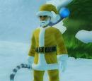 Golden Santa Suit