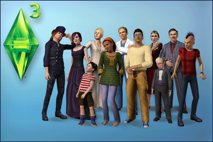 Los Sims 3 Pagecover