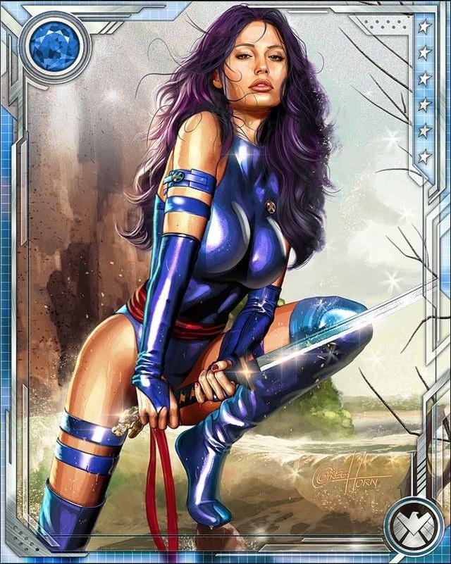 Psylocke Marvel Heroes