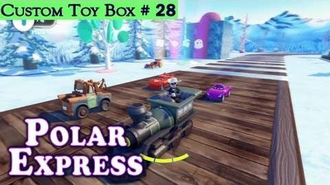 HD Disney Infinity Custom Toy Box 28 Polar Express Featuring The Lone Ranger