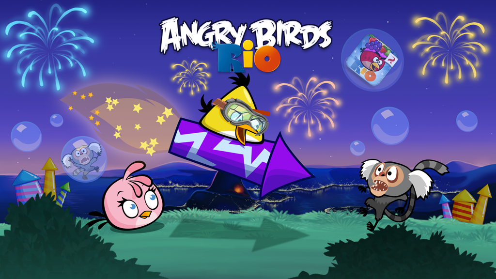 Rocket rumble angry birds wiki - Angry birds trio ...