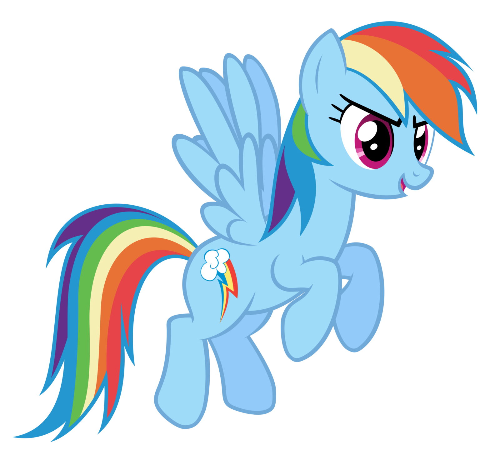 Rainbow Dash Png Image - FANMADE...