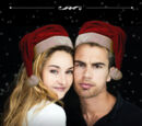 Gcheung28/Adorable Fourtris Holiday Card