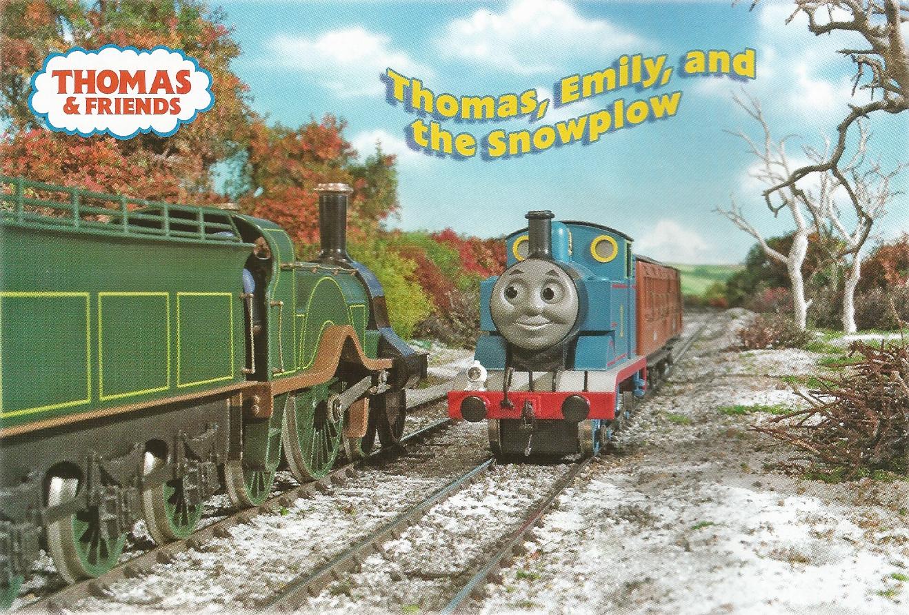 Thomas, Emily, and the Snowplow (magazine story) - Thomas ...