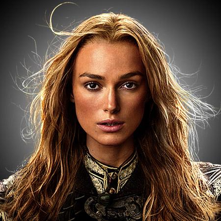 Elizabeth swann pirate makeup