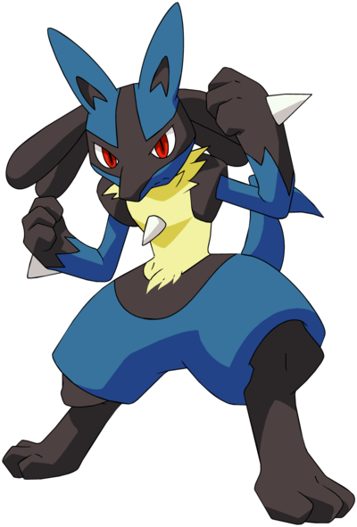Lucario is the best evar