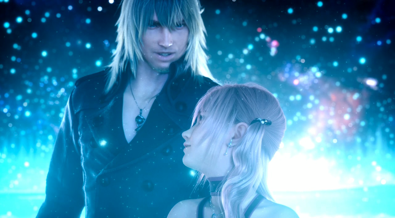 Size of this preview  640   215  354 pixels   Other resolutions  320    Final Fantasy Serah And Lightning