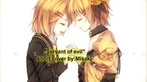 """Servant of evil"" Short cover (Misaki)-1"