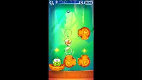 Cut The Rope Experiments - Level 8-12 - 3 Stars