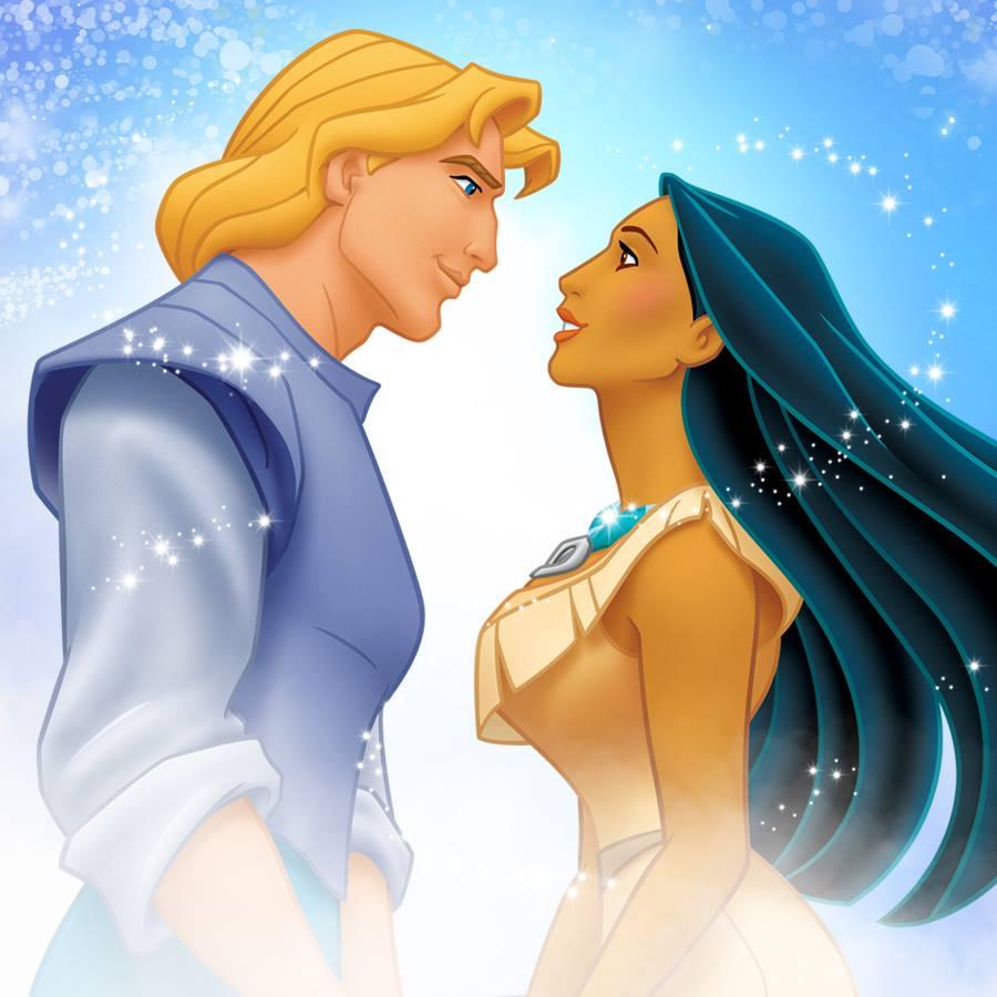 Image Pocahontas And John Smith Promational Art 2 Jpg