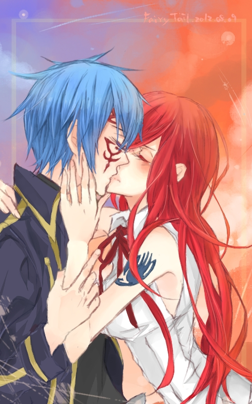 jellal and erza meet again guilty