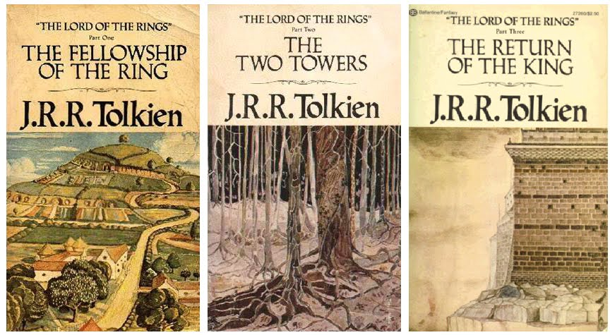 original lord of the rings books
