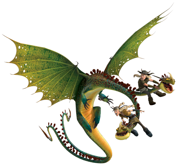 + banque d'images dragons Ruffnut-tuffnut-barf-belch-1