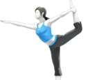 Entraîneuse Wii Fit (SSB4)