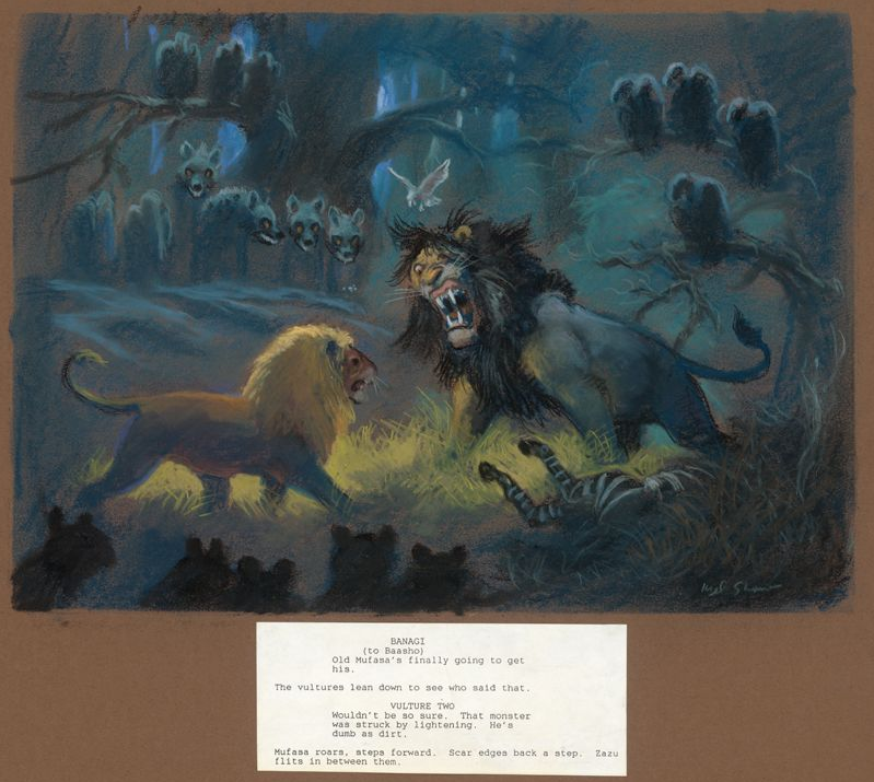 View Topic Why Did Scar Look Thinner And Older Than Mufasa