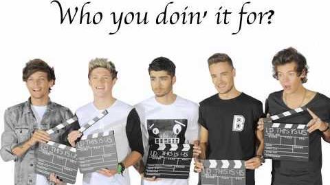 Little Black Dress- One Direction (lyrics pics)