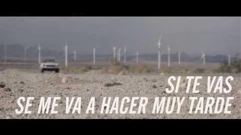Antes Que Ver El Sol (Lyric Video Oficial)