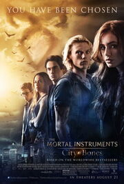 The Mortal Instruments - City of Bones Poster