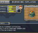 Burning Splash