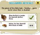 Acclaimed Artifact