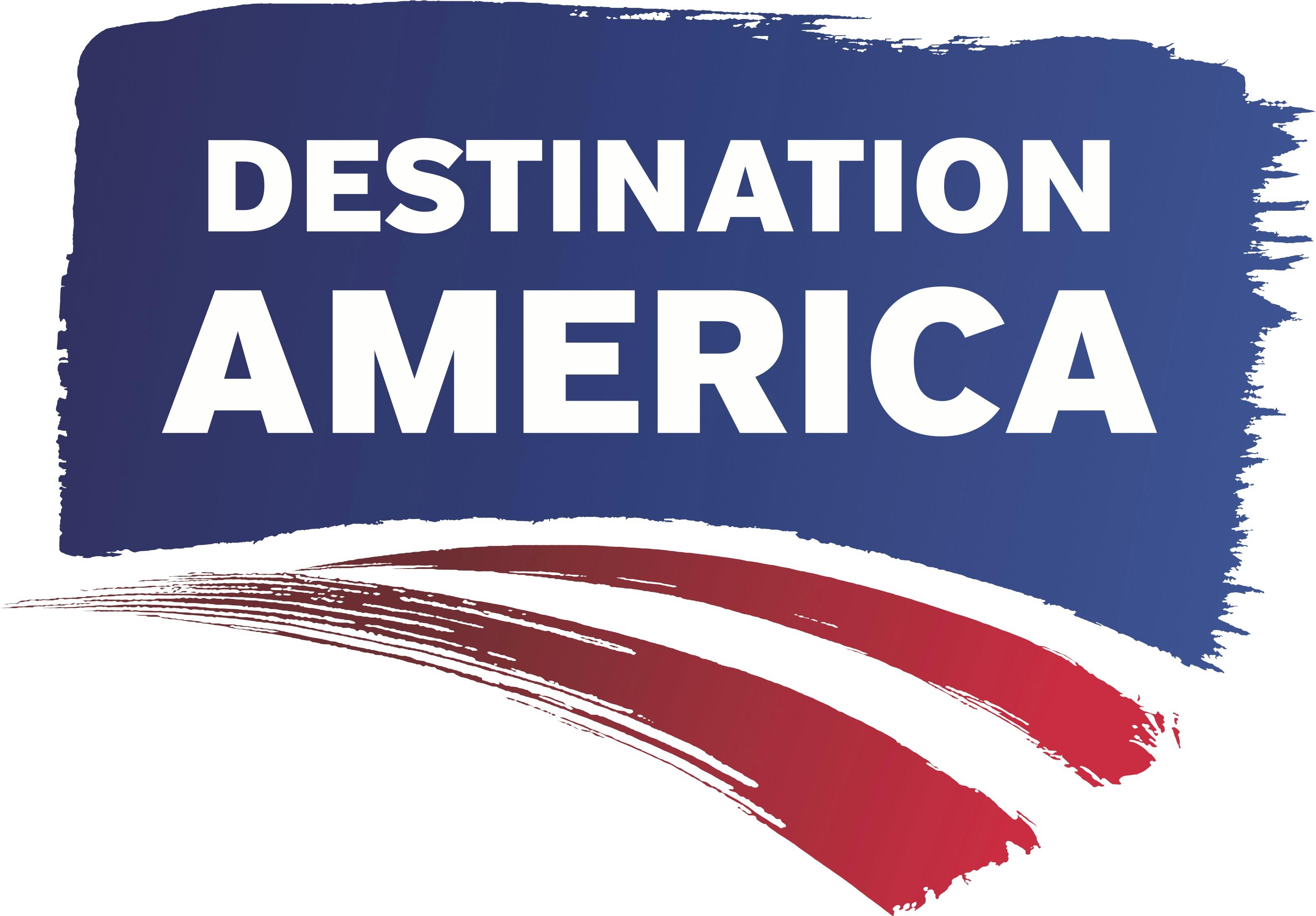 Destination America Channel Logo