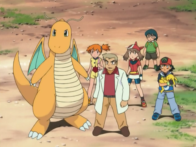 Professor Oak S Dragonite The Pok 233 Mon Wiki