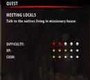 Meeting Locals