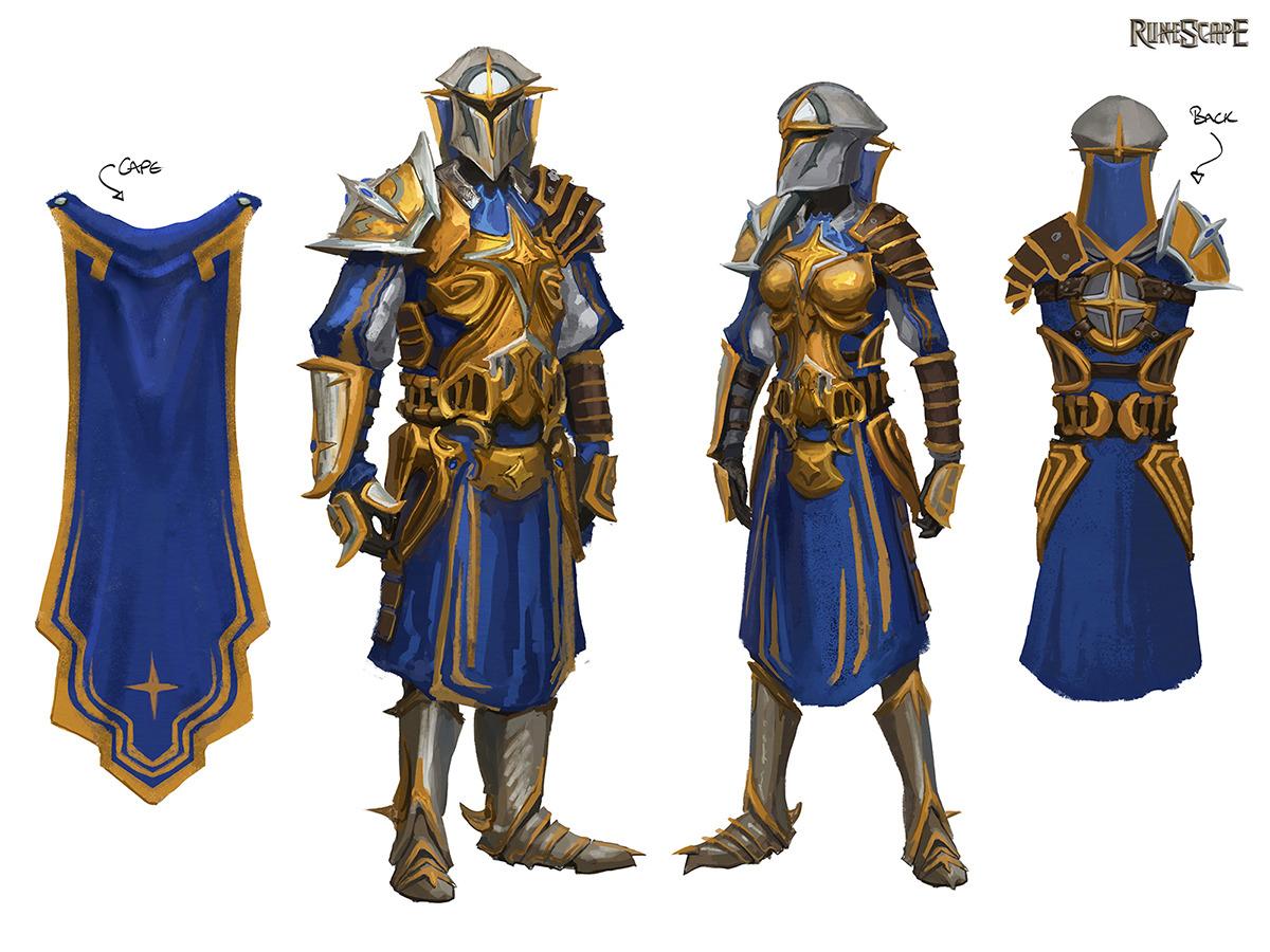Warpriest Of Saradomin Armour Runescape Wiki Wikia