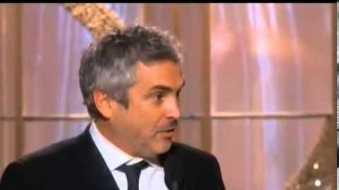 Alfonso Cuaron wins Golden Globe Awards 2014 HD