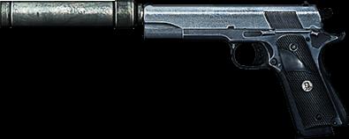 M1911 - Battlefield Wiki - Battlefield 4, Battlefield 3 ... M1911 Silenced