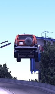 Flying Car Glitch