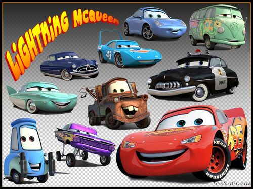 Lightning Mcqueen And Friends Images