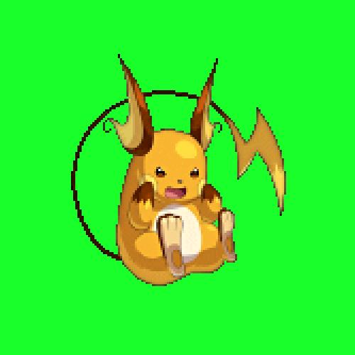 Pokemon Shiny Raichu