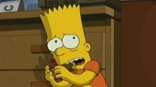 Simpsons Movie Scene Red Rash Inn