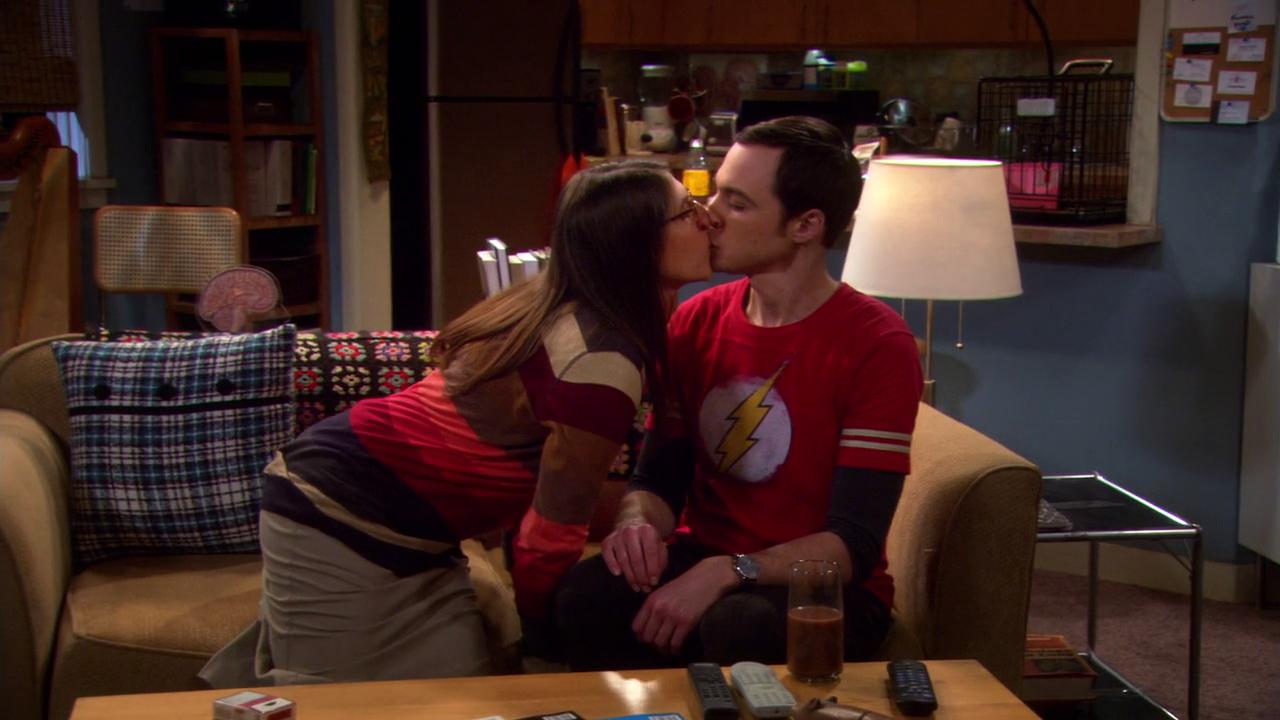 Priya Big Bang Theory Aarti Mann Sheldon and amy's first kiss